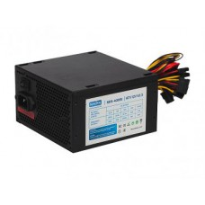 PSU NAVAN 400W NKS-400W ATX, 120mm fan, 24+4pin/2*SATA/3*Molex/FDD/PCI-E, Black, OEM