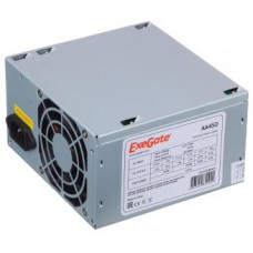 PSU EXEGATE 350W AA350 ATX, 80mm fan, 24+4pin/2*SATA/1*Molex OEM