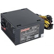 PSU EXEGATE 400W XP400 ATX, 120mm fan, 24+4pin/3*SATA/2*Molex/FDD, Black OEM