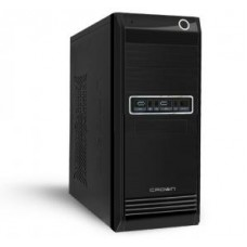 Case NAVAN Minitower IS001-BK Black, mATX, 450W, USB, Audio